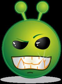 Fieses Alien