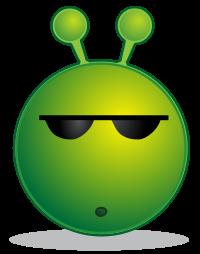 Misstrauisches Alien 3