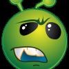 Misstrauisches Alien 2